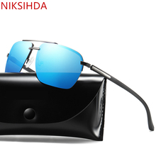 NIKSIHDA 2019 New fashion sunglasses men's fashion Polarized Sunglasses Polarized driving sunglasses uv400 niksihda 2019 european and american pop polarized sunglasses fashion sunglasses anti ultraviolet sunglasses uv400