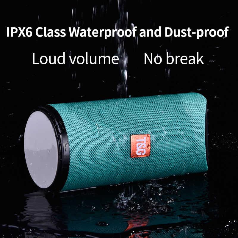 TG Bluetooth динамик портативный Открытый громкий динамик беспроводной мини Колонка 3D 10 Вт стерео музыка объемный Поддержка FM TFCard бас-бокс