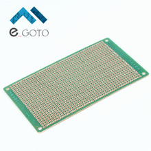 10PCS 7*12cm DIY Prototype Board Universal Board Experimental Plate Circuit PCB Single Side  Breadboard