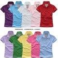 Mujeres libres Del Envío Camiseta de Manga Corta camiseta de las mujeres Outfit mujer camisetas M-XXL 10 Colores G0231