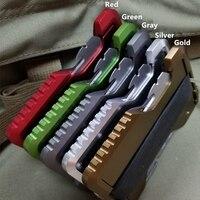 金属クリップ EDC 屋外ポケット財布戦術的な多機能財布カードパッケージ陸軍ファン機器とボトルオープナー -