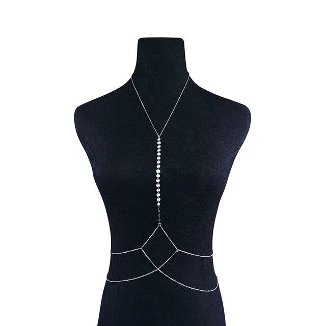 Sequins Body Bikini Chain11