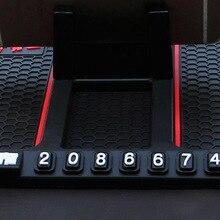 רכב מחצלת Smartphone Stand רכב גאדג טים ואבזרים דביק Pad עבור חכם 453 אנטי להחליק רב פונקציה חניה כרטיס