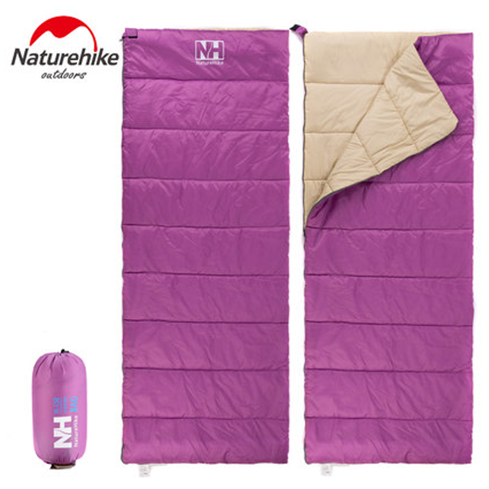 ФОТО Envelope Shaped Cotton Outdoor Travel Camping Hiking Sleeping Bag Portable Sport Sleeping Bags