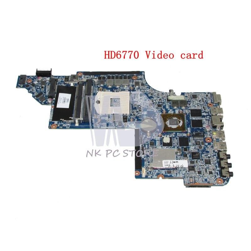 NOKOTION 665343-001 659148-001 Para HP Pavilion DV6 DV6-6000 laptop motherboard HM65 HD6770 DDR3 1 GB Discrete gráficos