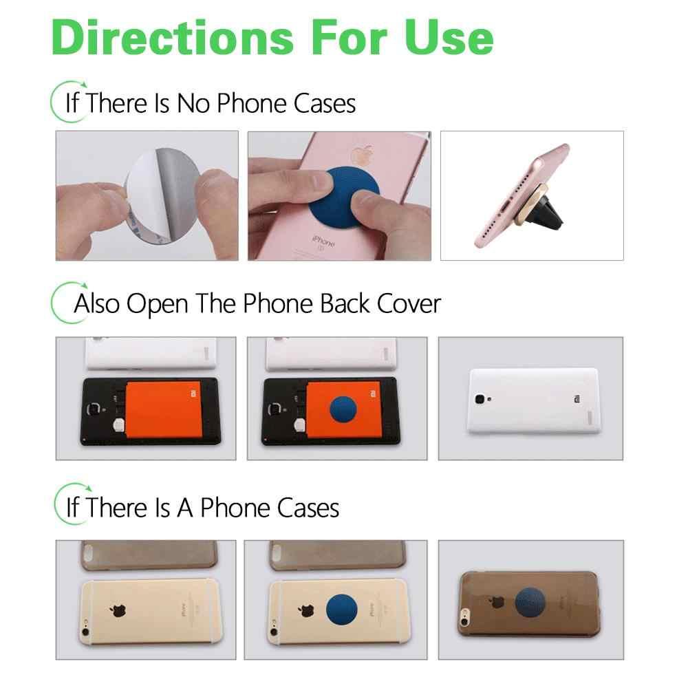 Uniwersalny uchwyt samochodowy na telefon 360 stopni GPS magnetyczny uchwyt do telefonu dla iPhone 7 Samsung S8 mocowanie magnetyczne uchwyt stojak