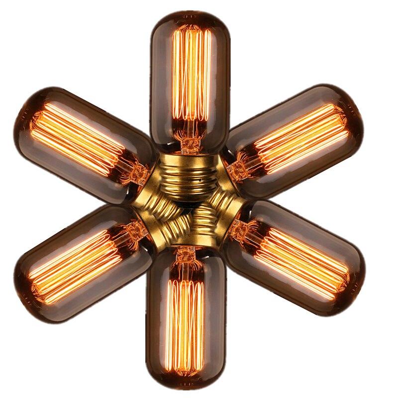 Top Quality E27 40W Vintage Antique Retro Edison Style Carbon Filament Bulb Light 110V Edison Incandescent Lamp