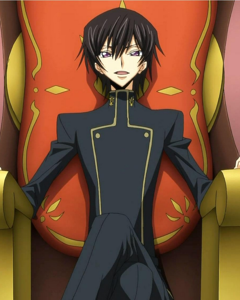 Code Geass Lelouch vi Britannia Cosplay Wig Free Shipping for Halloween and Christmas