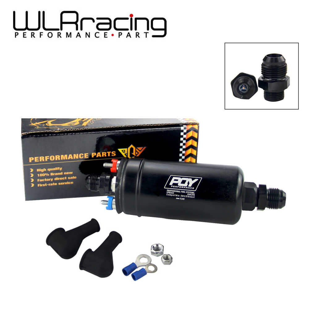 WLR RACING - EFI 380LPH 1000HP TOP QUALITY External Fuel Pump E85  Compatible 044 style New WLR-FPB003-QY