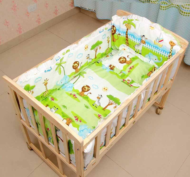crib bed bumper 3