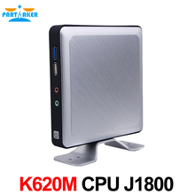 Partaker Безвентиляторный mini pc K620M celeron J1800 двухъядерный 2.4 ГГц USB3.0 * 1