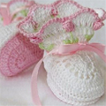 High Quality Purely Manual Knitting Baby Shoes Big Petal Design Ribbon Newborn First Walkers Soft Cotton Yarn crochet boot