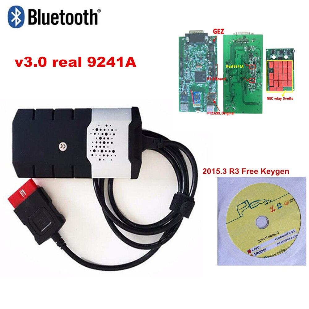 V3.0 Rot Relais Obd Obd2 Scan Vd Ds150e Cdp tcs Cdp Pro Plus 2016,0 Neueste Software/2015R3 für delphis auto lkw diagnose-tool