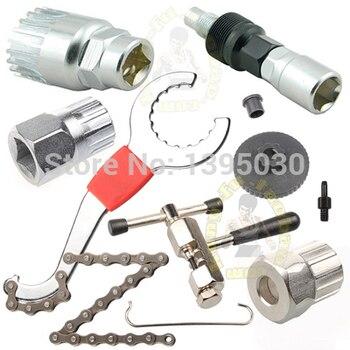 3Pcs/Lot Mountain bike repair tool kit chain cutter axis repair tools flywheel combination tools