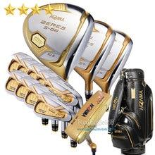 Новый Compelete клубный набор Хонма S-06 4 звезды клюшки для гольфа драйвер fairway Wood Утюги сумка клюшка графитовая клюшка для гольфа Бесплатная доставка