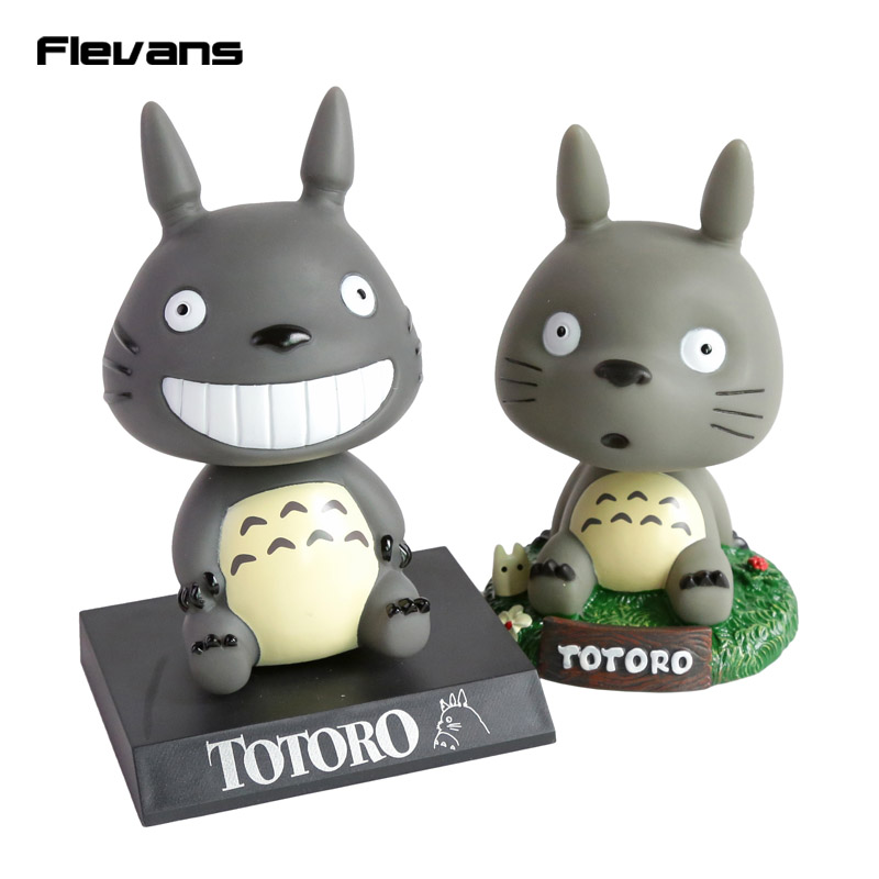 Cute Cartoon my vecino Totoro Bobble Head PVC figura de acción ...