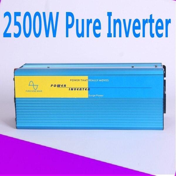 2500w convertitore puro 12 volt 24 volt 48 volt home inverter 2500w pure sine wave inverter 2500w convertitore puro