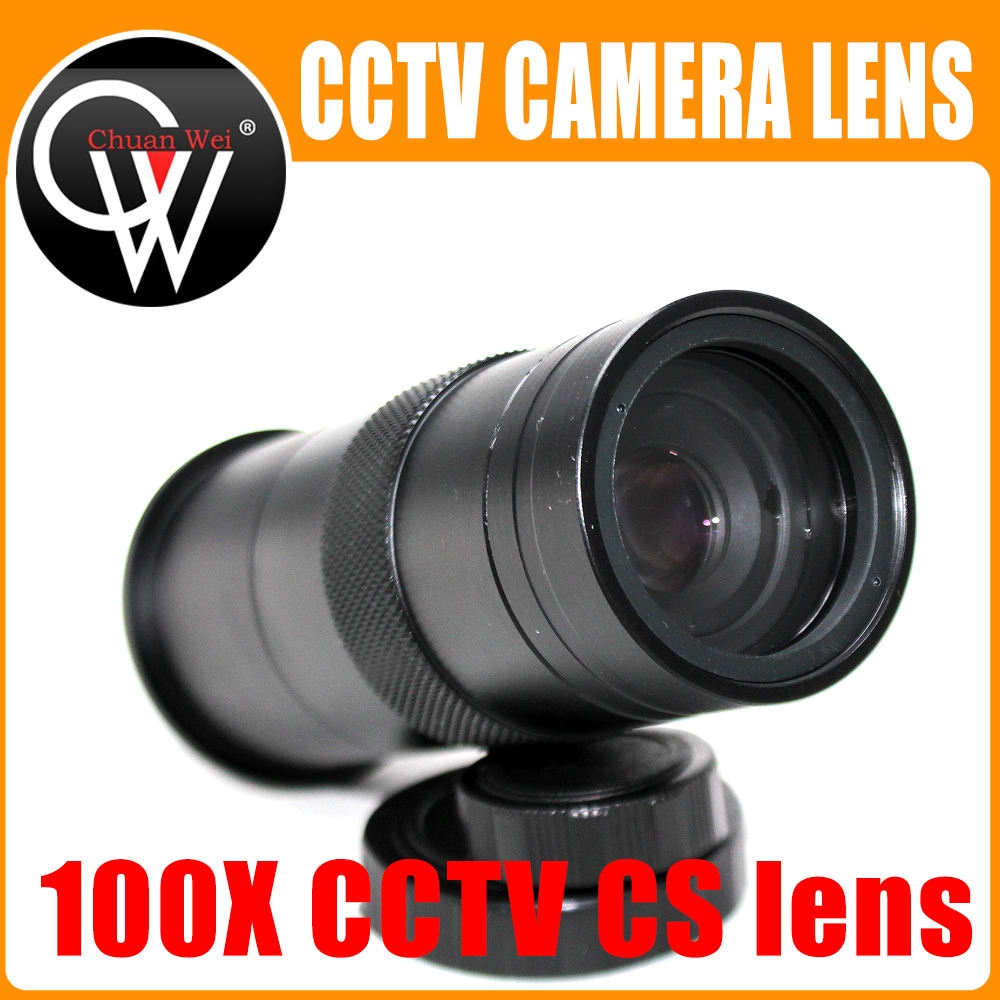 100X Zoom C/CS Mount Lens Glass Magnification Eyepiece For VGA HDMI USB CCD CMOS Industry Video Microscope Camera