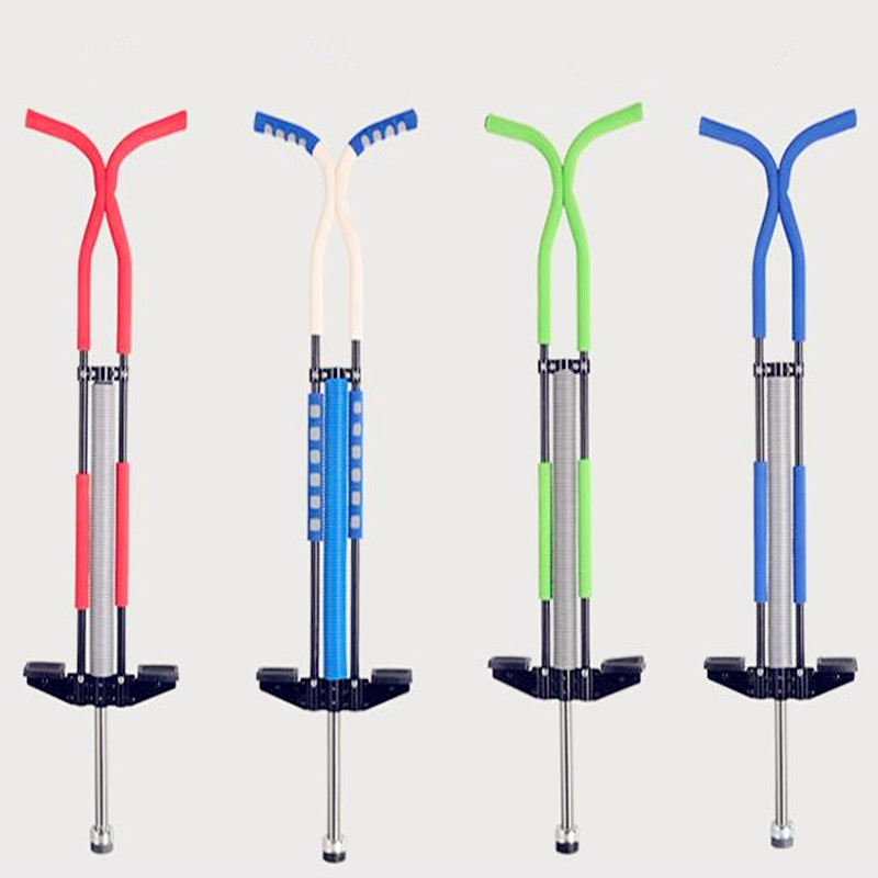 New Adults/Kids Pogo Stick Kangaroo Jumping Shoes Jumping Stilts Fly Jumper Boing Outdoor Body-building Gym Sports Air Kicks