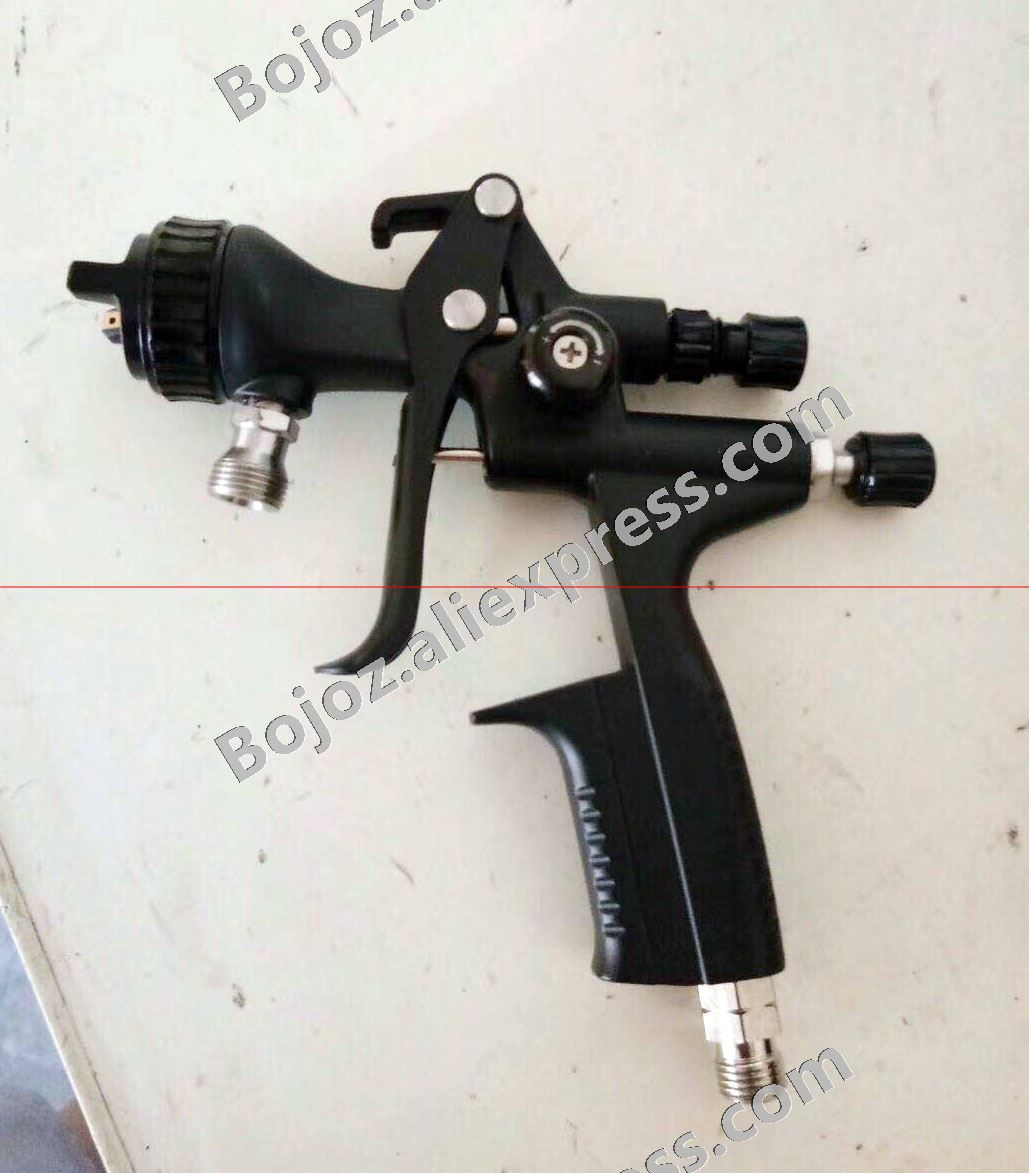Black Limited Edition 5000BRP Spray Gun Suction feed 1 7 Noz w t cup pistol Painting