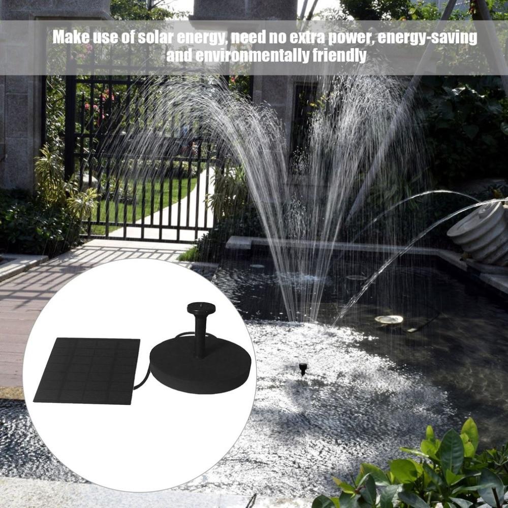 Mehrzweck Solarbetriebene Brunnen Pumpe Kits Schwimmenden Tauch Outdoor Bewässerung Pumpe Mit 4 Spray Nuzzles Auswahlmaterialien Pumpen, Teile Und Zubehör