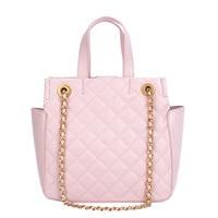 Women Fashion Handbag Plaid Designer Luxury Tote Bag Ladies Chain Shoulder Bag Female Black Pink Lattice Crossbody Messenger Bag