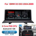 IPS Android 8.1 auto multimedia-player gps navigation Radio für BMW X3 E83 2004-2010 Original auto ohne bildschirm 2 GB + 32 GB WIFI