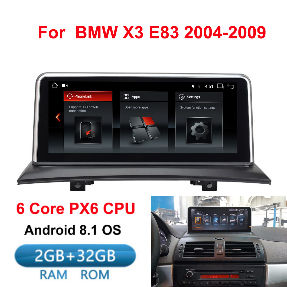 Ips Android 8.1 Car Multimedia Player Gps Navigation Radio For Bmw X3 E83 2004-2010 Original Car Without Screen 2gb+32gb Wifi Car Intelligent System