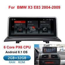 Lecteur multimédia de voiture IPS Android 8.1 gps navigation Radio pour BMW X3 E83 2004-2010 voiture d'origine sans écran 2 GB + 32 GB WIFI