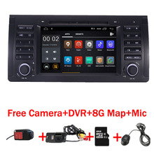In Stock 7HD IPS Android 9.0 Car radio dvd for BMW E53 X5 GPS Navigation with Wifi 3G Bluetooth Radio Steering wheel Control цена