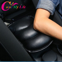 Auto Center Console Arm Rest Seat Box Padding Protective Case Soft PU Mats Cushion For Nissan