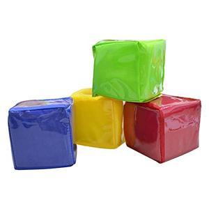 Image 2 - Godery DIY 教育サイコロを再生する、ポケットキューブ、写真ポケット泡スタッキングブロックのセット 4