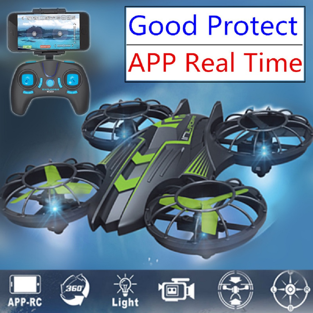 Fpv Rc Helicopter Quadcopter Professional Mini Drone With