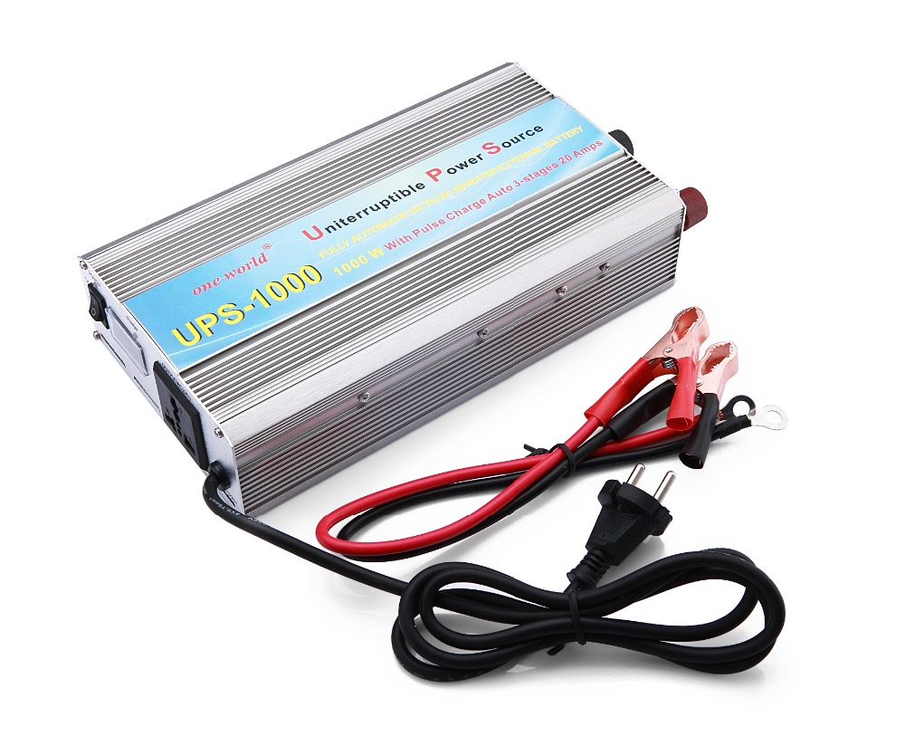 1kw 1000w Ups Off Grid Inverter 12v 24vdc Car Power 220v Design Of The 3 Kva Modified Sine Wave Should Look Like This With Ac Charger And Function In Inverters Converters
