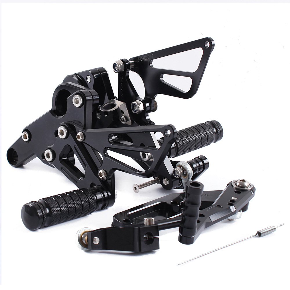 For YAMAHA MT09 MT 09 2014 2015 2016 MT 09 CNC Motorcycle Adjustable Rearsets Rear Sets Foot Pegs Pedal Foot Rests