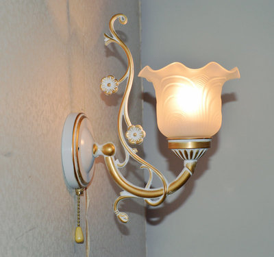 Wall Lamp Fashion Antique Lighting Bedroom Bedside Lamp Mirror Light Stair With Lights Switch Led Lamps