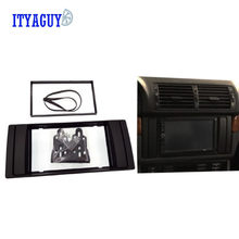Double Din For BMW X5 (E53) 5 (E39) 1995-2003 Stereo Frame Radio DVD Stereo CD Panel Dash Kit Trim Fascia Face Plate Frame(China)