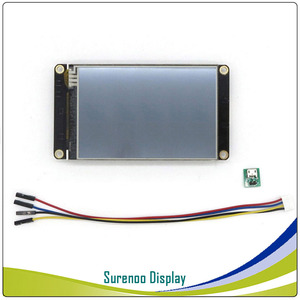 "Image 5 - 3.5 ""NX4832K035 Nextion 향상된 HMI USART UART 직렬 저항 막 터치 TFT LCD 모듈 디스플레이 패널 Arduino Raspberry Pi 용"