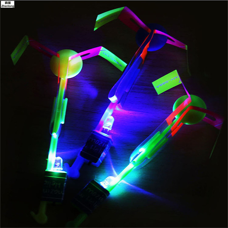 Magic Light Finger Flashing Toys Jumping Spinner Juguetes Toy LED Light Up Flashing Dragonfly Glow For Party Toys Brinquedos Led