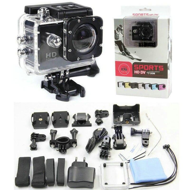 New Full HD SJ4000 1080P 12MP Car Cam Sports DV Action Waterproof Camera 7 colors