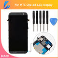 LL TRADER 100% Tested 5PCS/LOT Touch Screen LCD For HTC One M8 Lcd Display with Digitizer Assembly Full Replacement Repair+Tools