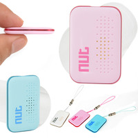 Mayitr Mini Bluetooth Smart Tag Tracker Bag Wallet Anti Lost Key Locator GPS Finder 4Color Fit