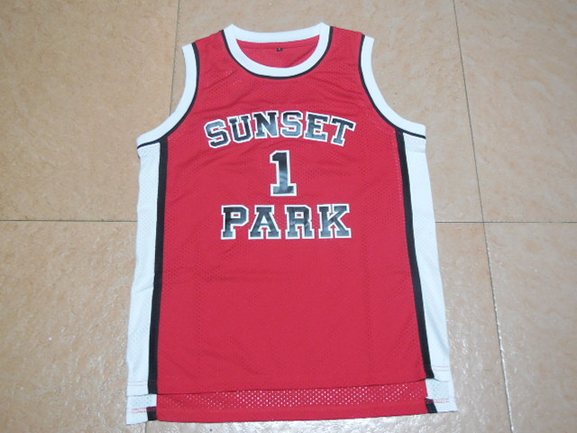 a6a9d84c4aa7 Sunset Park Fredro Starr Shorty 1 Sunset Park Basketball Jersey S-XXL Free  Shipping
