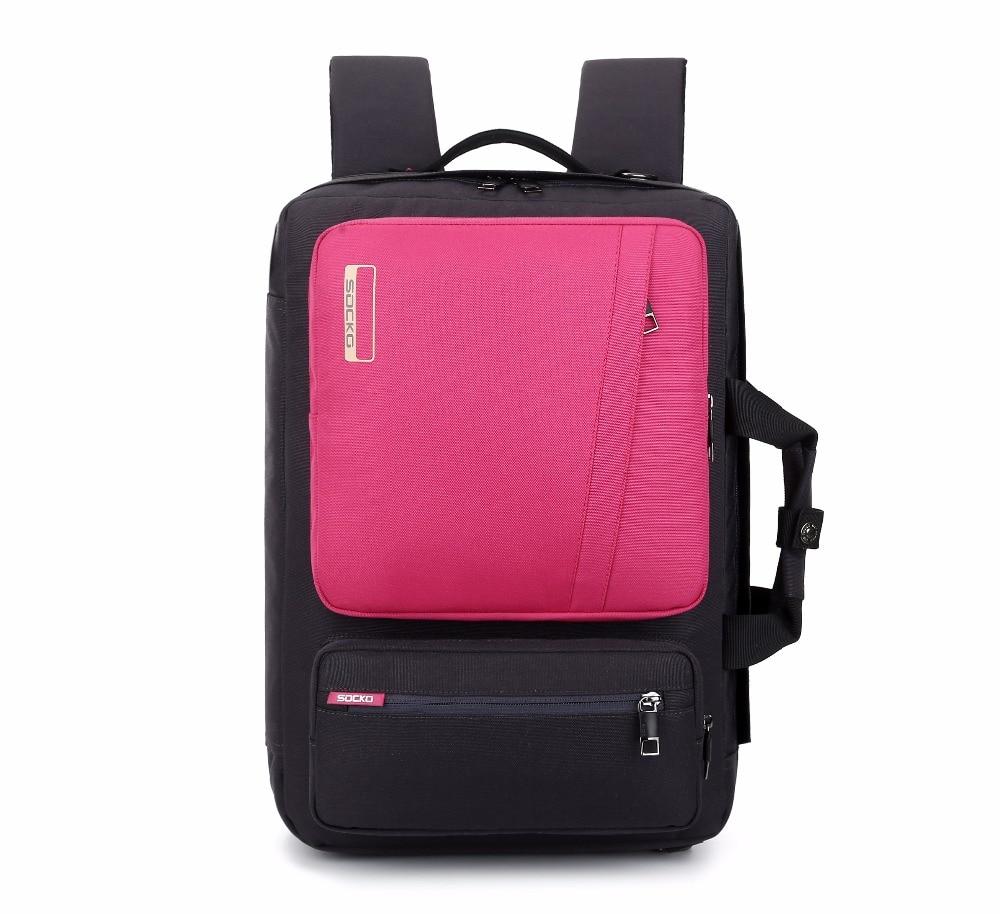 Σόκο Μάρκα Μοναδικό υψηλής ποιότητας αδιάβροχο νάυλον σακίδιο φορητού υπολογιστή Άνδρες Γυναίκες Υπολογιστής τσάντα για φορητούς υπολογιστές 17,3 ιντσών 15,6 τσάντα για φορητό υπολογιστή