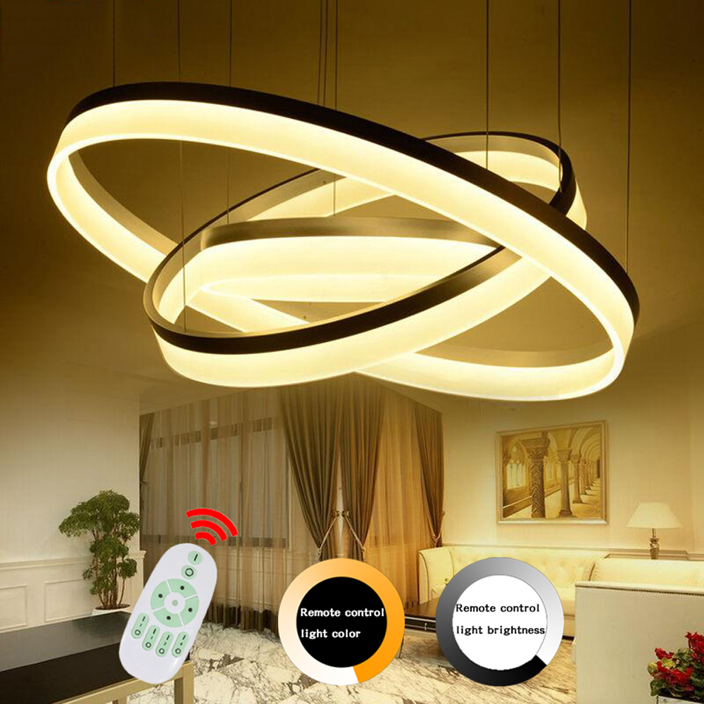Modern pendant lights led lamp hanging light fixtures remote control modern pendant lights led lamp hanging light fixtures remote control dimmer lustre pendant lamp led lights for home lighting in pendant lights from lights arubaitofo Choice Image