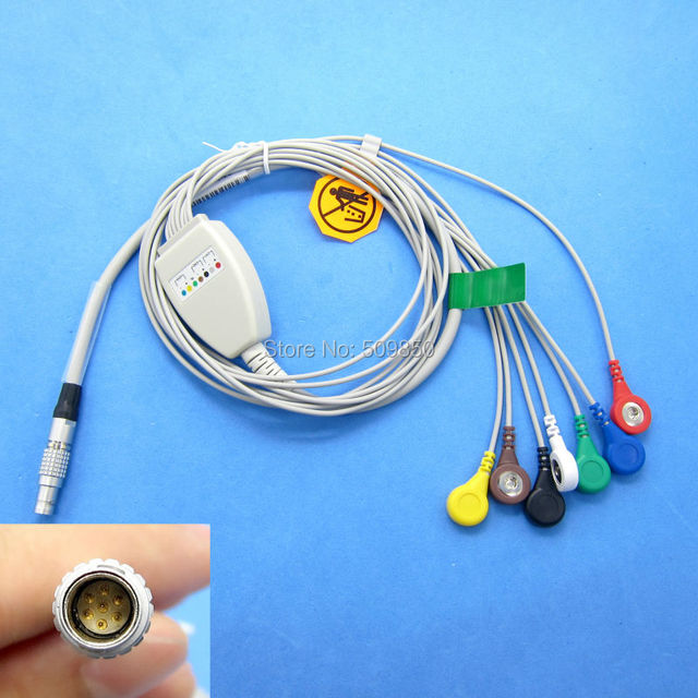 free shipping compatible Biomedical Instruments (BI) Holter cable ...