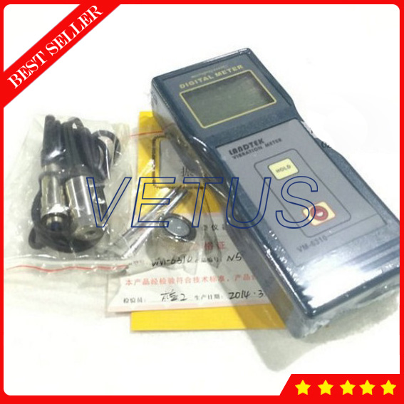 VM6310 Digital Vibration meter with vibration measuring instrument with Velocity 0 01 to 199 9mm s