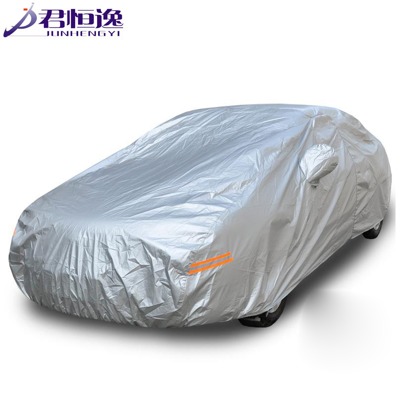ФОТО Covers On Cars 14 Size Silver Color Breathable UV Protection Outdoor Indoor Shield Car Covers Free Shipping