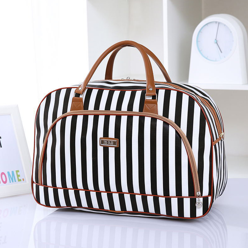 Fashion Women's Travel Bags PU Leather Large Capacity Waterproof Print Luggage Duffle Bag Packing Cube Weekend Pouch Accessories