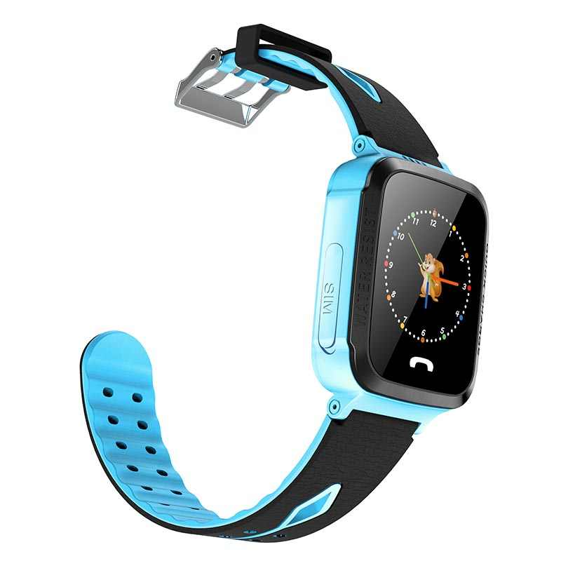 V6F Child Waterproof baby GPS Smart Watch with Camera Flashlight SOS Call Location Touch Screen Anti-Lost Monitor Tracker